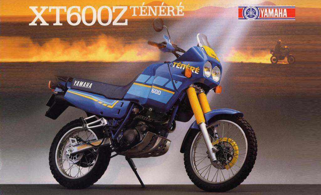 Tenere 600 - 3 поколение